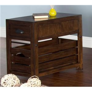 Market Square Crestburg Crestburg Chair Side Table