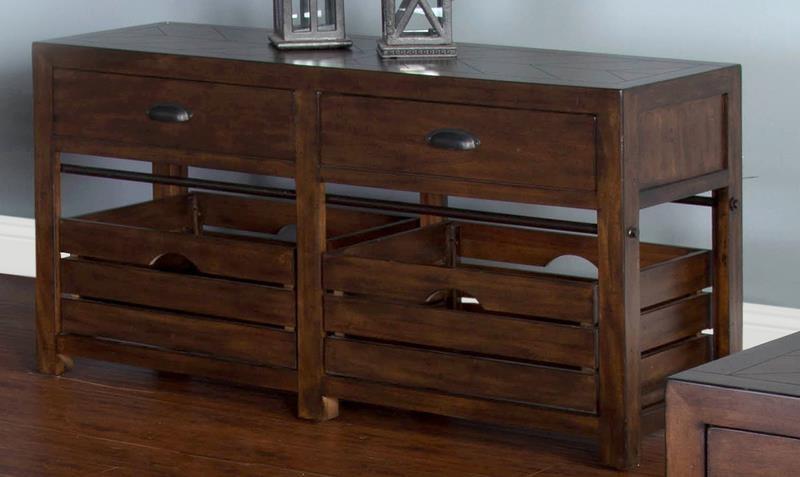 Crestburg Crestburg Sofa Table by Sunny Designs at Morris Home