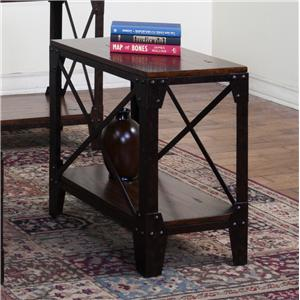Sunny Designs Crosswinds Chair Side Table
