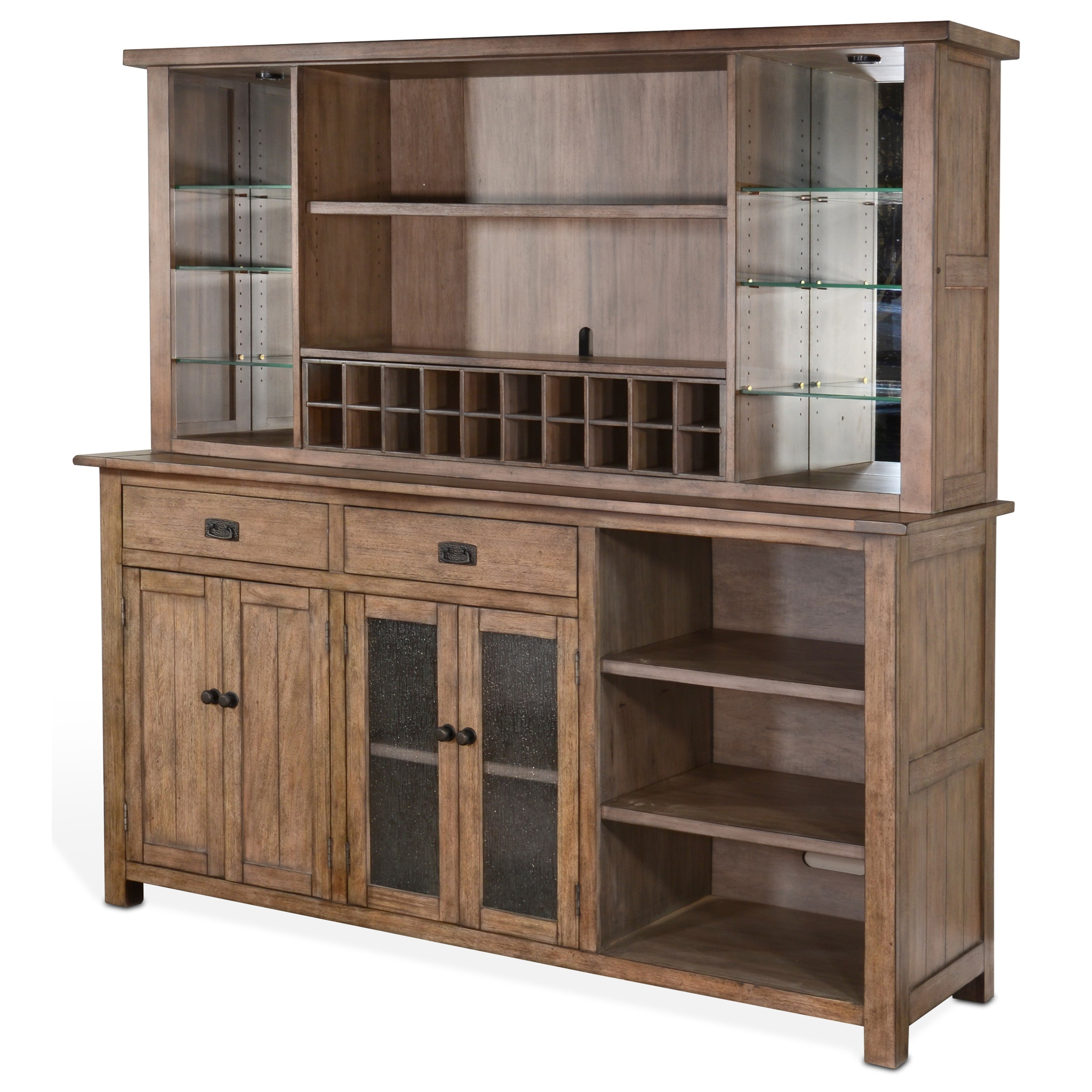 Doe Valley Buffet & Hutch by Sunny Designs at Stoney Creek Furniture