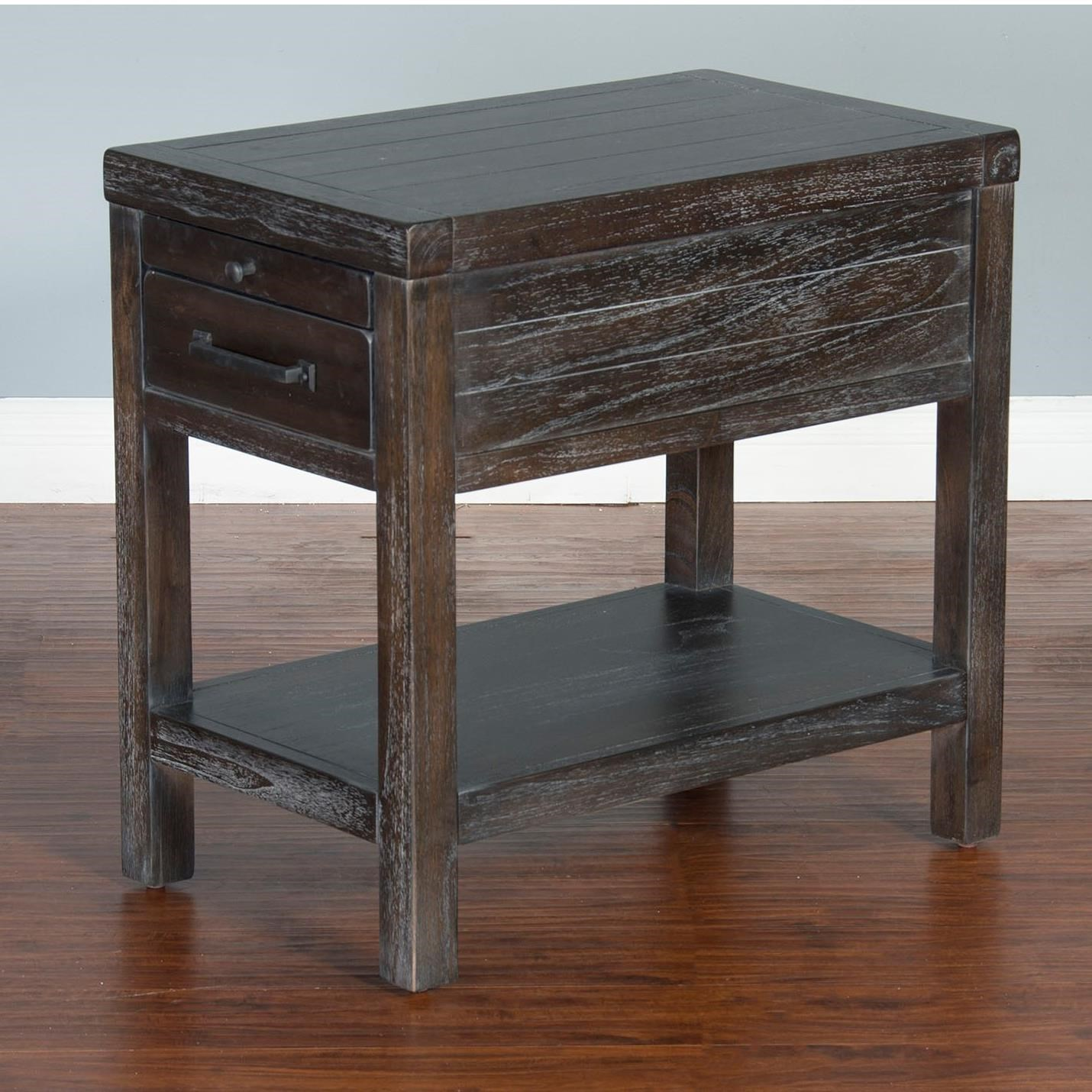 Dundee Chair Side Table by Sunny Designs at Stoney Creek Furniture