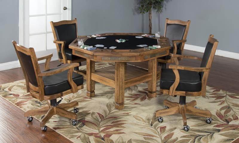 Morris Home Furnishings Elkhart Elkhart 5-Piece Game Table Set - Item Number: 388823203