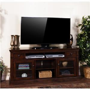 "Morris Home Furnishings Encino Encino 64"" Entertainment Console"