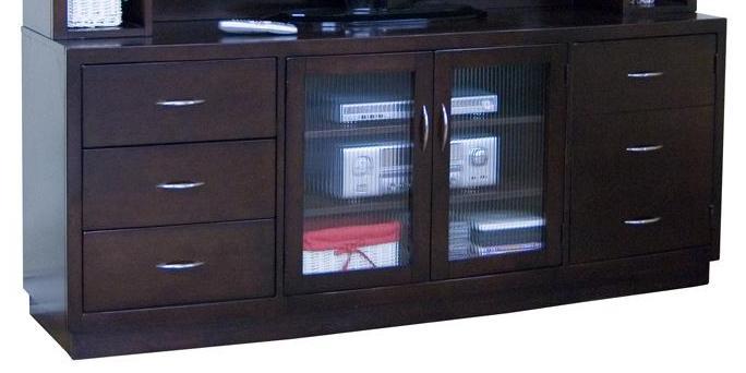 Sunny Designs Espresso TV Console - Item Number: 3372E-72