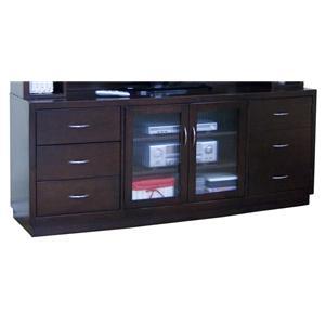 Sunny Designs Espresso TV Console
