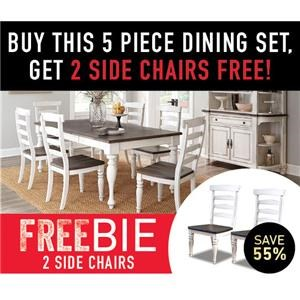 Fairbanks 5-Piece Set with Freebie!