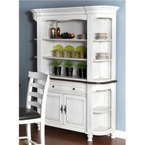Morris Home Furnishings Fairbanks Fairbanks Dining Buffet and Hutch