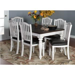Morris Home Furnishings Fairbanks Fairbanks 5-Piece Dining Set