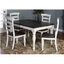 Market Square Fairbanks Fairbanks 5-Piece Dining Set - Item Number: 358845417