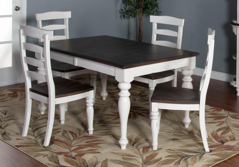 Morris Home Furnishings Fairbanks Fairbanks 5-Piece Dining Set - Item Number: 358882137