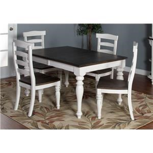 Market Square Fairbanks Fairbanks 5-Piece Dining Set