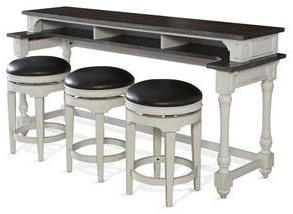 Fairbanks Bar Table with Swivel Stools