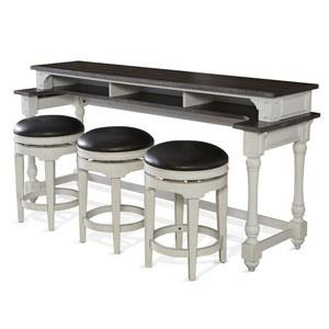 Fairbanks  Bar Table with Swivel Stoold