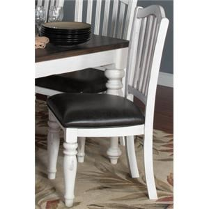 Morris Home Furnishings Fairbanks Fairbanks Upholstered Side Chair