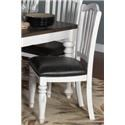 Morris Home Furnishings Fairbanks Fairbanks Upholstered Side Chair - Item Number: 415854579
