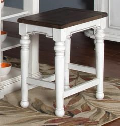 Morris Home Furnishings Fairbanks Fairbanks Backless Stool