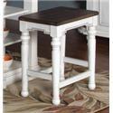 Morris Home Furnishings Fairbanks Fairbanks Backless Stool - Item Number: 802920450