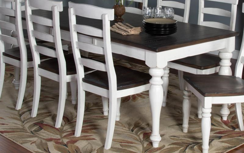 Market Square Fairbanks Extension Dining Table | Morris Home ...