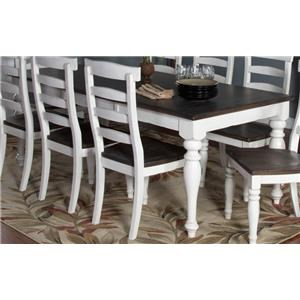 Morris Home Furnishings Fairbanks Fairbanks Extension Dining Table