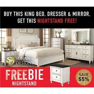 Fairbanks King Bedroom Package with FREEBIE!