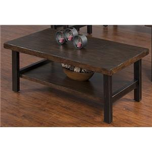 Morris Home Furnishings FootHill Foot Hill Cocktail Table