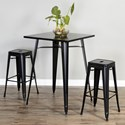 Sunny Designs Glen Ivy Pub Table and Barstool Set - Item Number: 1081B-42+2x1679B-30