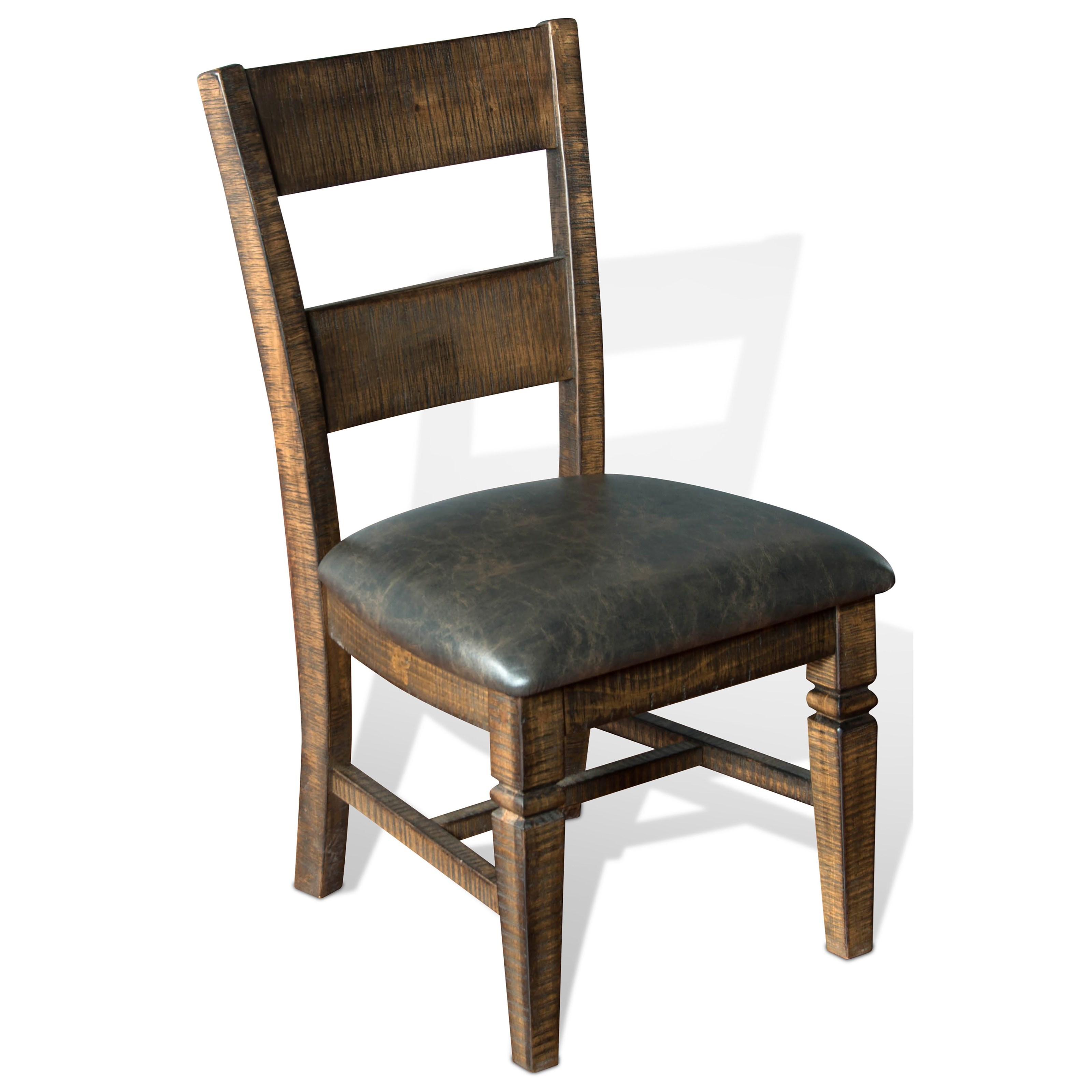 Sunny Designs Homestead Ladderback Chair w/ Cushion Seat - Item Number: 1429TL