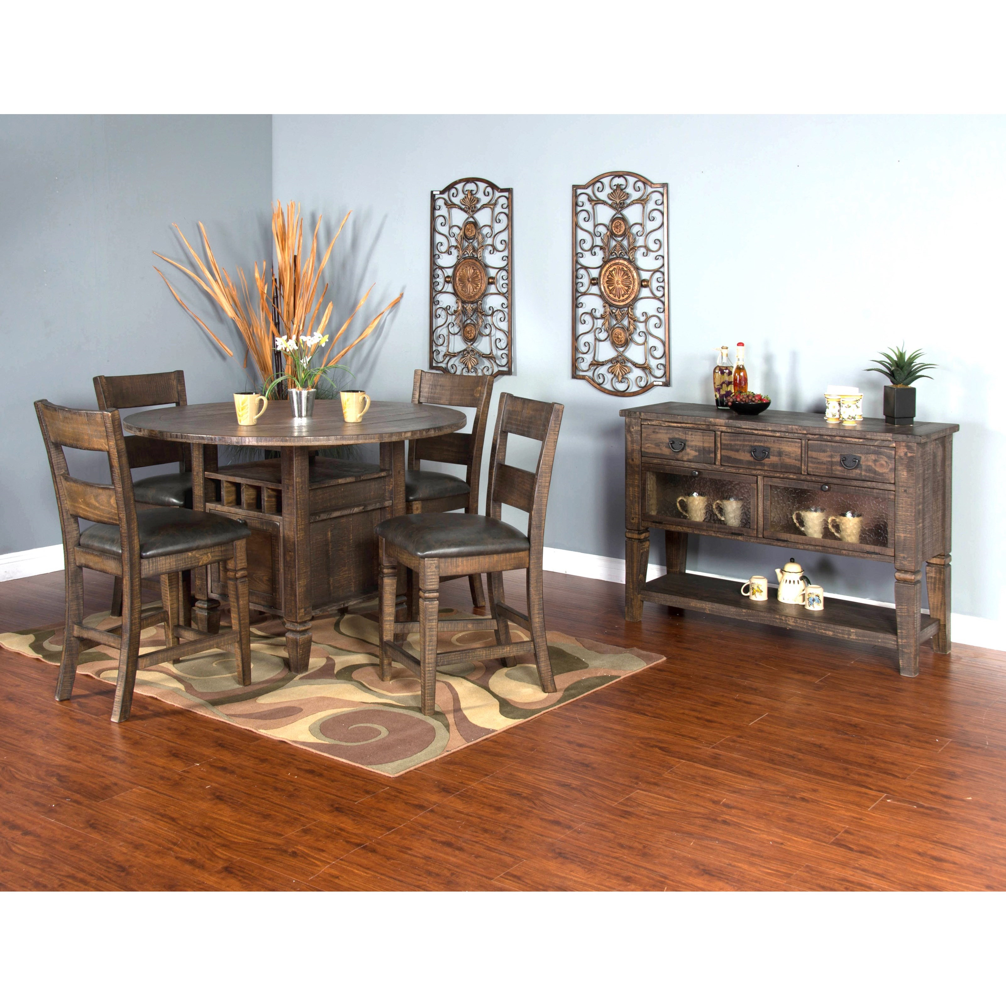 Casual Dining Room Furniture: Sunny Designs Homestead Casual Dining Room Group