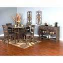 Sunny Designs Homestead Casual Dining Room Group - Item Number: TL Dining Room Group 2