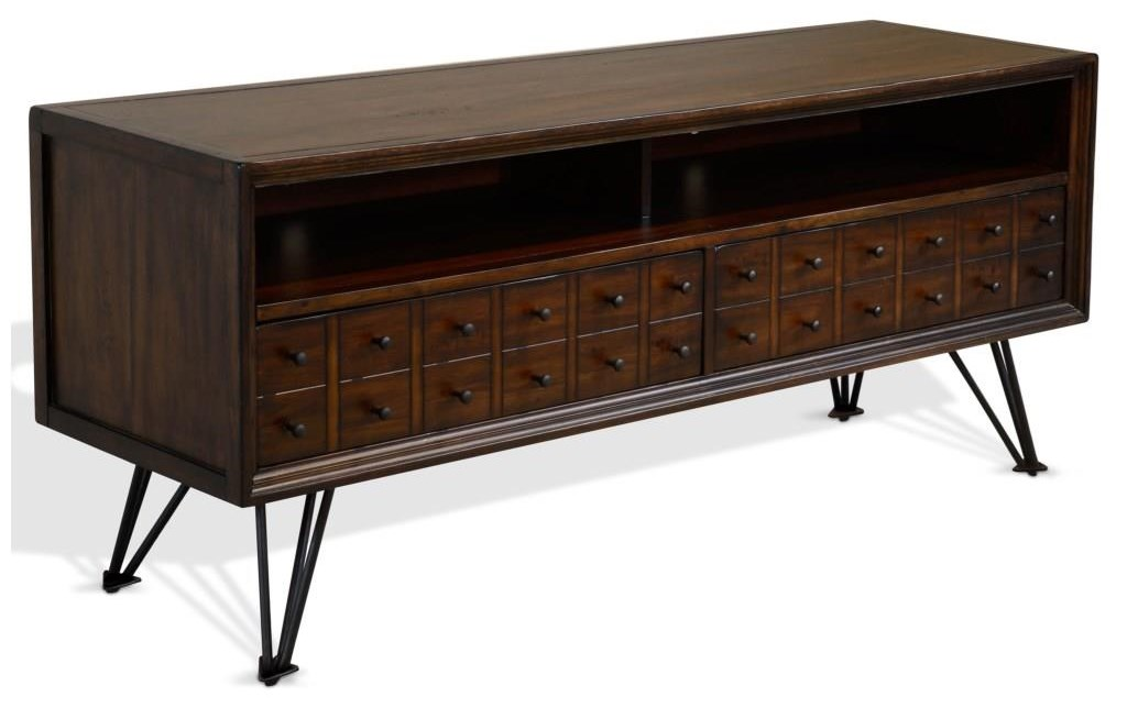 "Kline Kline 64"" Media Console by Sunny Designs at Morris Home"