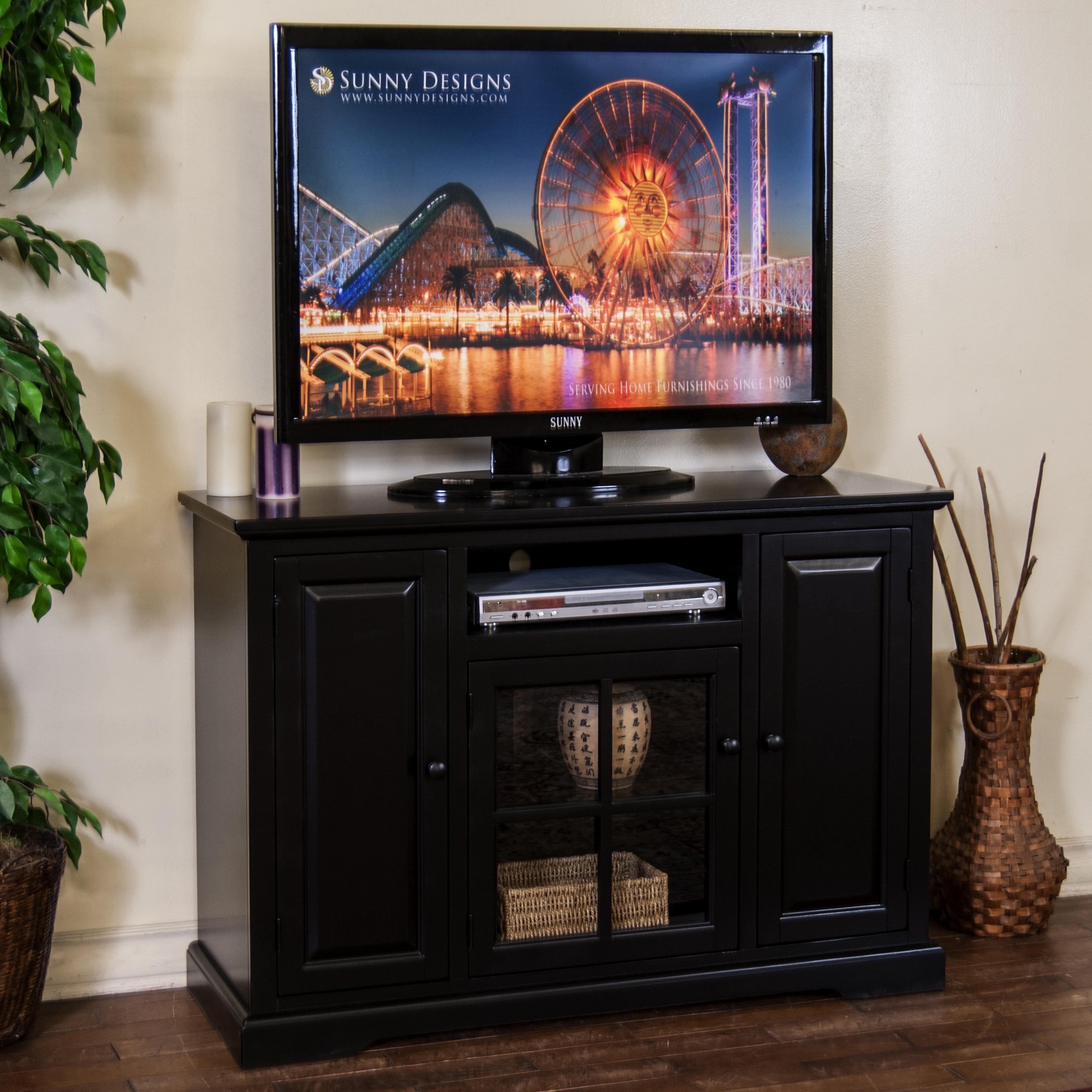 """Sunny Designs Laguna 48"""" TV Console - Item Number: 3474B-48"""