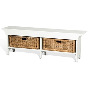 Sunny Designs Manor House Storage Bench