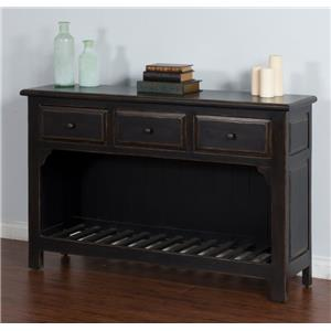 Morris Home Furnishings Meiomi Meiomi Sofa Table