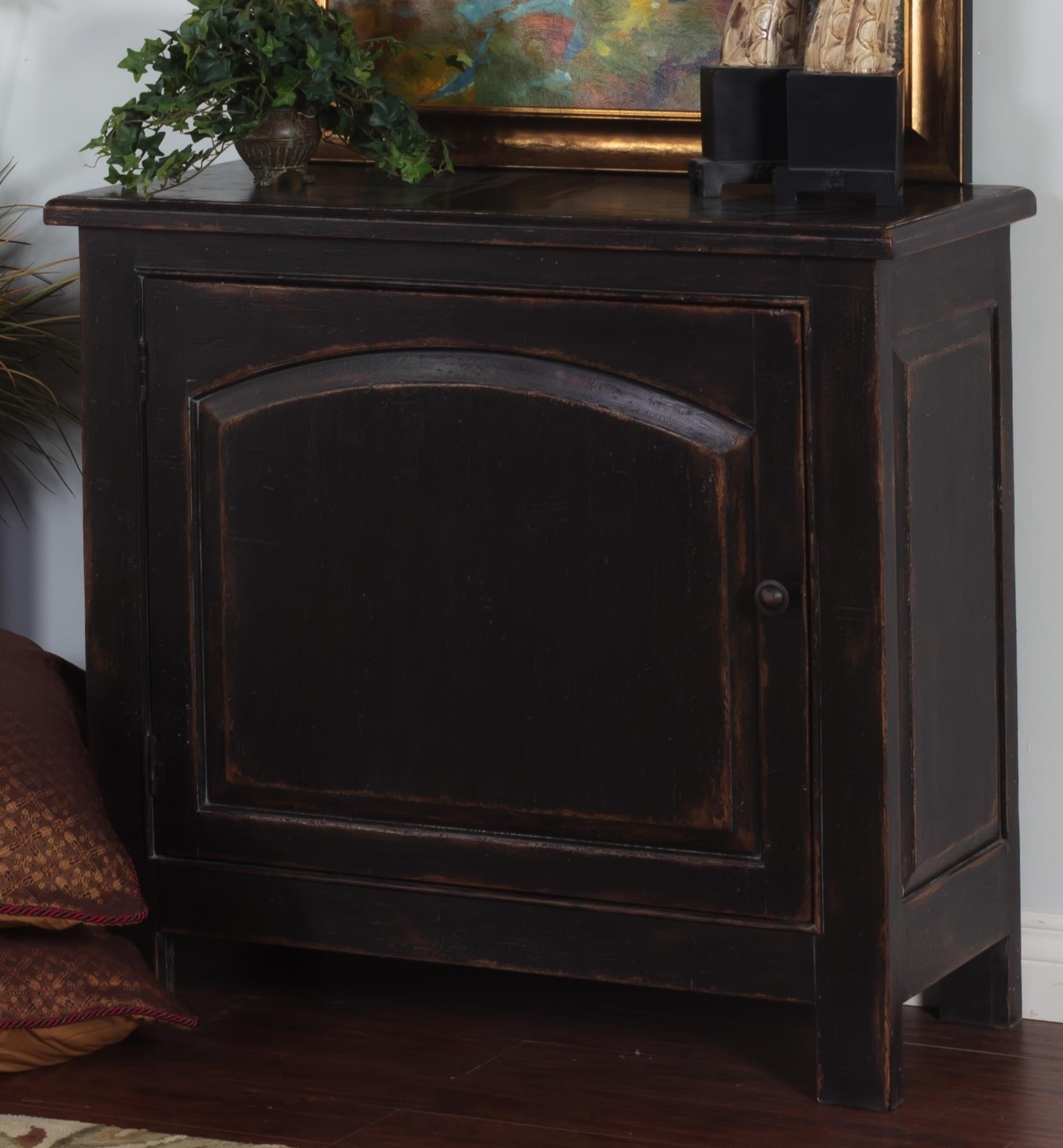 Morris Home Furnishings Meiomi Meiomi Arch Door Chest - Item Number: 510706278