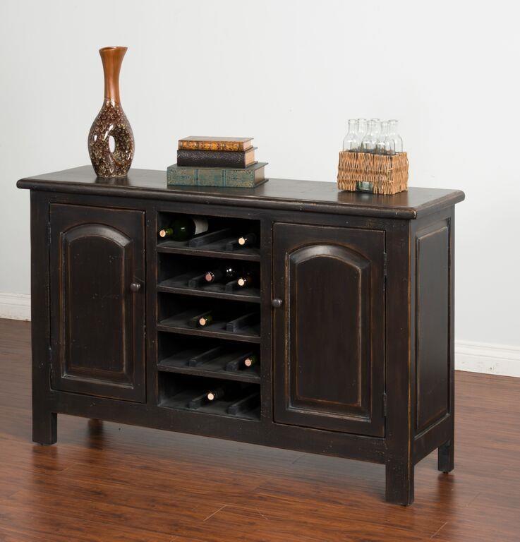 Morris Home Furnishings Meiomi Meiomi Sideboard with Wine Storage - Item Number: 823846362