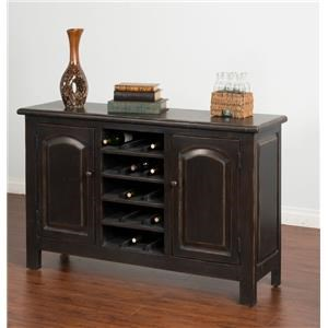 Morris Home Furnishings Meiomi Meiomi Sideboard with Wine Storage