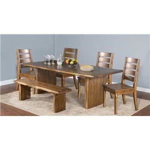 Morris Home Furnishings Minden Minden II 5 Piece Dining Set