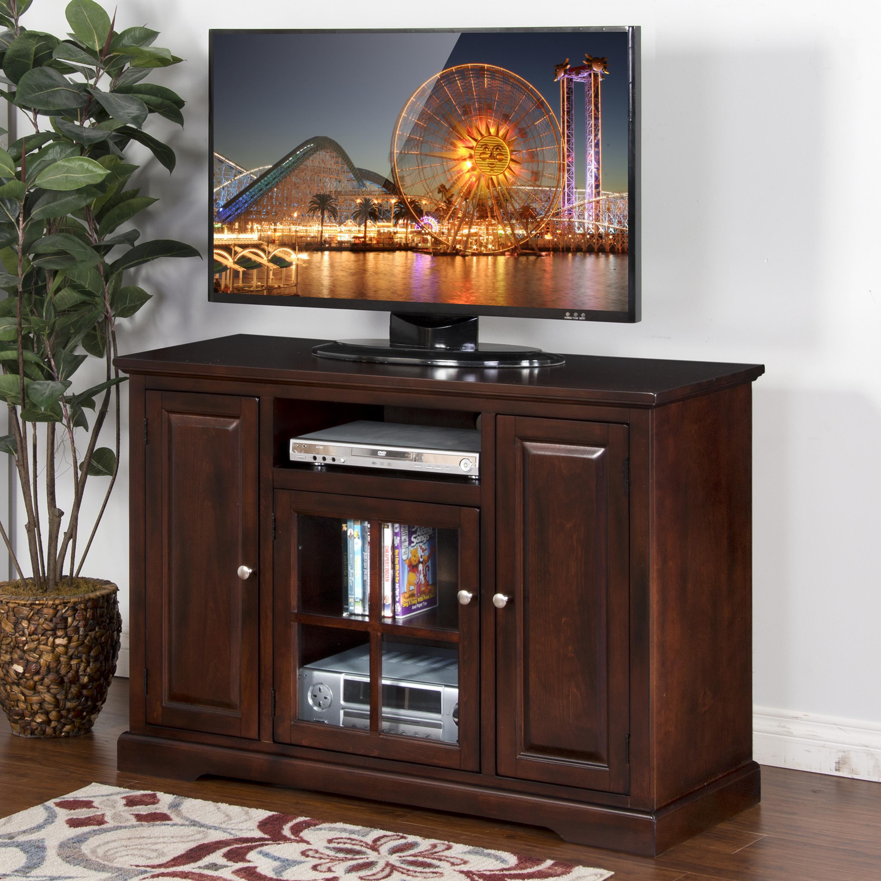 "Sunny Designs Monterey 48"" TV Console - Item Number: 3474MT-48"