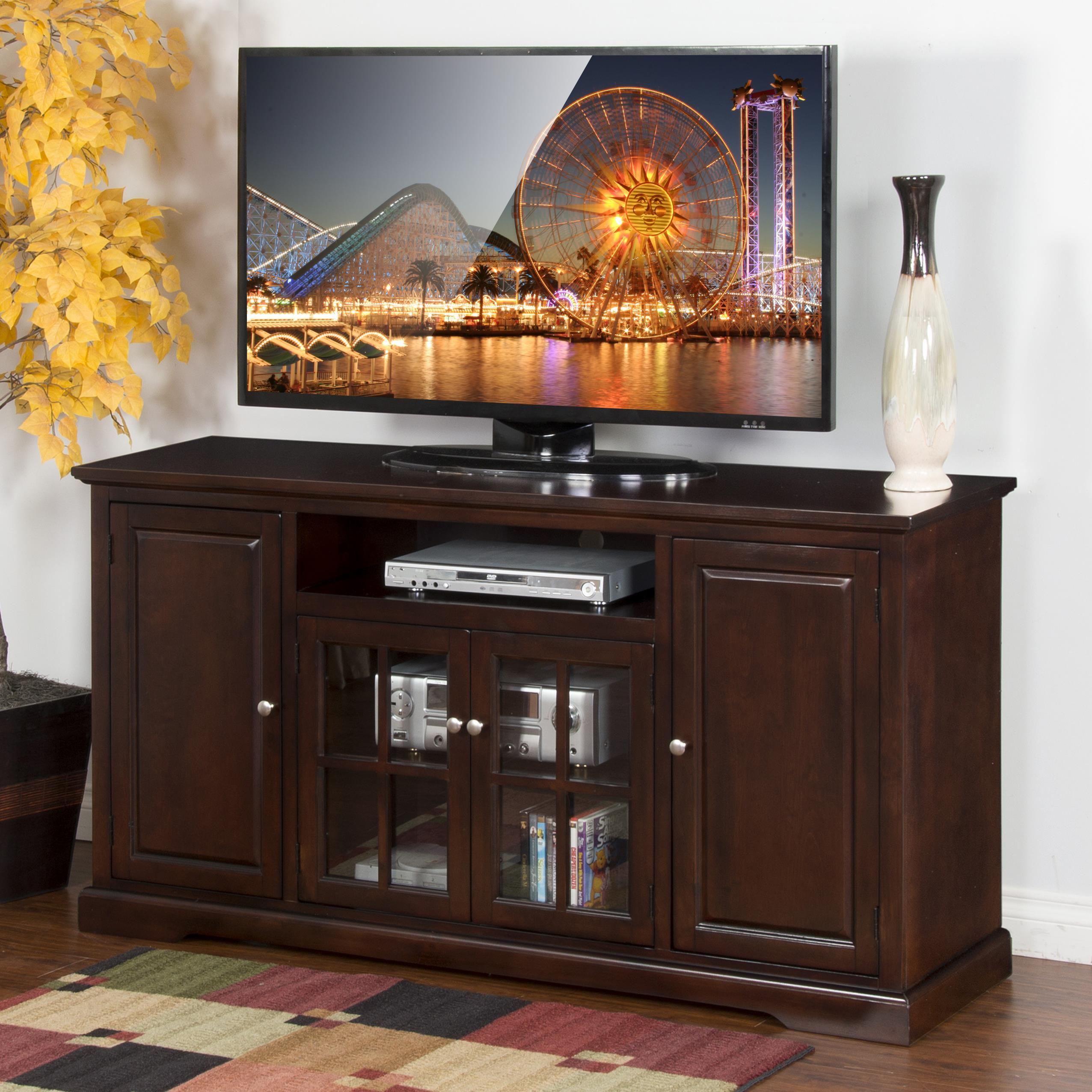 "Sunny Designs Monterey 64"" TV Console - Item Number: 3474MT-64"