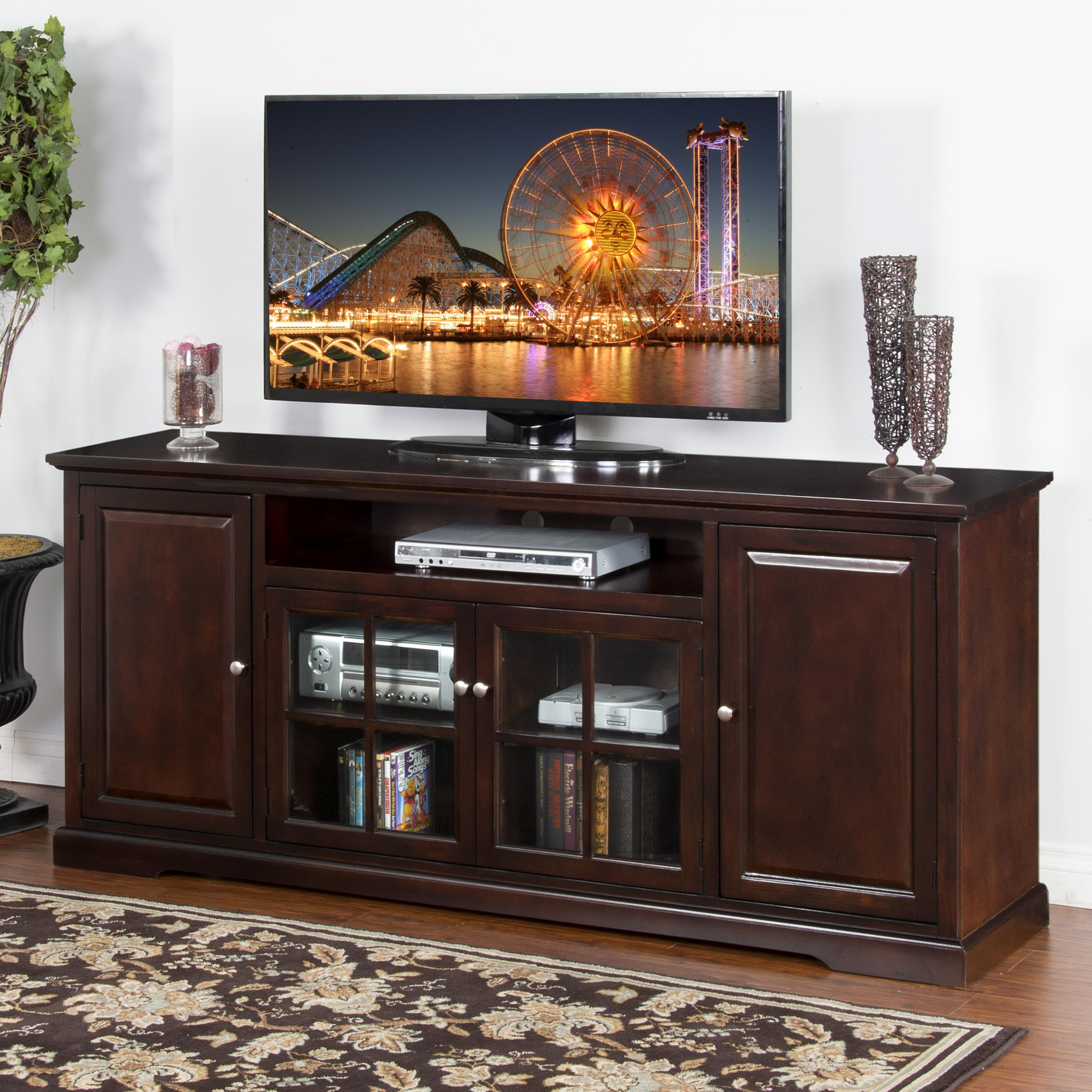 "Sunny Designs Monterey 78"" TV Console - Item Number: 3474MT-78"