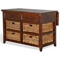 Sunny Designs Mossy Oak Nativ Living Kitchen Island Table - Item Number: 2031KW