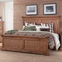 Sunny Designs Mossy Oak Nativ Living Queen Panel Bed - Item Number: 2332DL-Q
