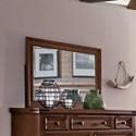 Sunny Designs Mossy Oak Nativ Living Dresser Mirror - Item Number: 2332KW-M