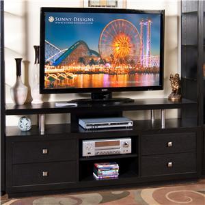 "Sunny Designs New York Contemporary 68"" TV Console"