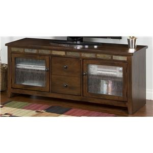 "Morris Home Furnishings Oak Creek Oak Creek 62"" Console"