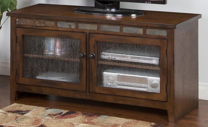 "Morris Home Furnishings Oak Creek Oak Creek 52"" Console - Item Number: 708081525"