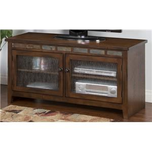 "Morris Home Furnishings Oak Creek Oak Creek 52"" Console"