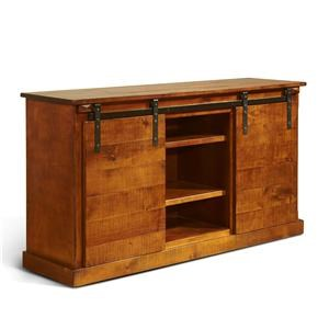 "Morris Home Furnishings Oakhurst - Oakhurst 62"" Console W/ Barn Doors"