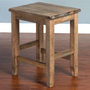 Sunny Designs Puebla Stool w/ Wood Seat