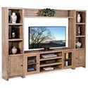 Sunny Designs Puebla Entertainment Wall - Item Number: 3573DW